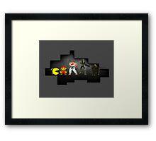 Evolution Of Games Framed Print