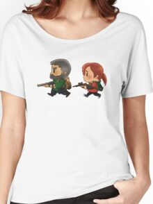 Chibi Joel and Ellie Women's Relaxed Fit T-Shirt