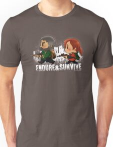 Chibi Joel and Ellie Unisex T-Shirt