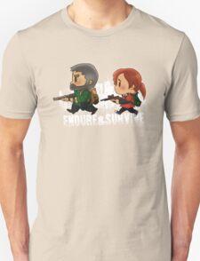 Chibi Joel and Ellie Unisex T-Shirt