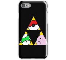 Triforce of Nintendo iPhone Case/Skin