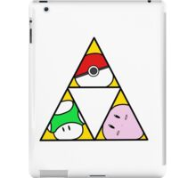 Triforce of Nintendo iPad Case/Skin