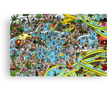 Where's the Deep Sea Diver Canvas Print