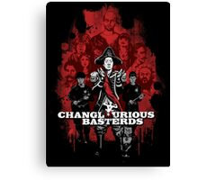 Changlourious Basterds (Any Shirt Colour) Canvas Print