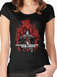 Changlourious Basterds (Any Shirt Colour) Women's Fitted Scoop T-Shirt