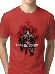 Changlourious Basterds (Any Shirt Colour) Tri-blend T-Shirt