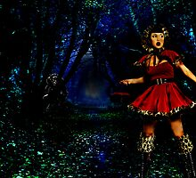 Hey there little red ridding hood by Andrew (ark photograhy art)