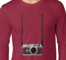 Leica M3 with 50mm Summilux f1.4 Long Sleeve T-Shirt