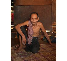 Khmer Chief Photographic Print