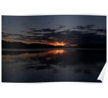 Glow - Narrabeen Lakes,Sydney - The HDR Experience Poster