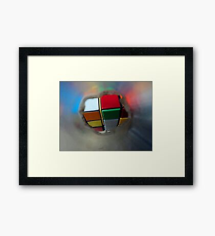 happy to have you despite the odds Framed Print