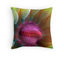 Cup Coral Portrait Throw Pillow