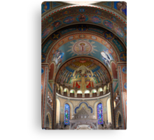 The Votive Church of Our Lady of Hungary  Canvas Print