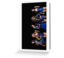 Fifth Harmony Reflection Tour Greeting Card