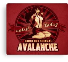 AVALANCHE Wants YOU! Canvas Print
