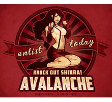 AVALANCHE Wants YOU! Photographic Print