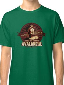 AVALANCHE Wants YOU! Classic T-Shirt