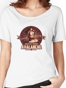AVALANCHE Wants YOU! Women's Relaxed Fit T-Shirt
