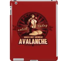 AVALANCHE Wants YOU! iPad Case/Skin