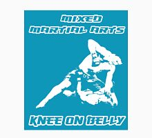 Mixed Martial Arts Knee On Belly Blue  Unisex T-Shirt