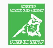 Mixed Martial Arts Knee On Belly Green  Unisex T-Shirt