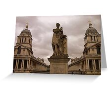 Old Royal Naval College, Greenwich, London Greeting Card
