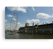 Engineering Marvel - The London Eye Canvas Print