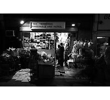 Dalston shop Photographic Print
