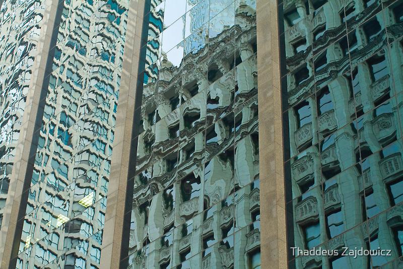 Chicago Reflections by Thad Zajdowicz