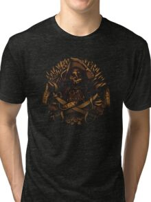 Never Say Die Tri-blend T-Shirt