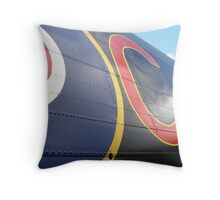 Lancaster markings Just Jane Throw Pillow