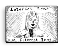 Internet Meme Miss South Carolina Canvas Print