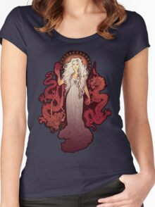Dragon Mother Women's Fitted Scoop T-Shirt