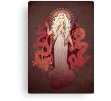 Dragon Mother Canvas Print