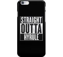 Straight Outta Hyrule - Zelda iPhone Case/Skin