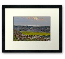 Horse-thief Canyon Framed Print
