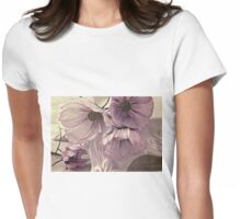 Cosmos On Pedestal Womens Fitted T-Shirt