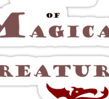 Department for Magical Creatures Sticker