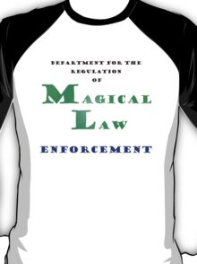 Department for Magical Law Enforcement T-Shirt