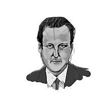 David Cameron Photographic Print