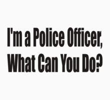 Police One Piece - Short Sleeve