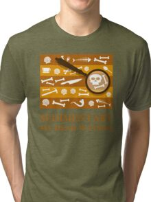 Sedimentary Watson! Tri-blend T-Shirt