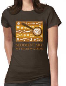 Sedimentary Watson! Womens Fitted T-Shirt