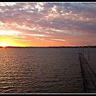 Sunset at Como Jetty by Psycoticduck