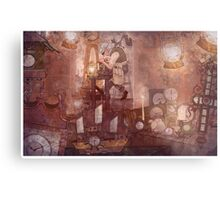 The Clockmaker Metal Print