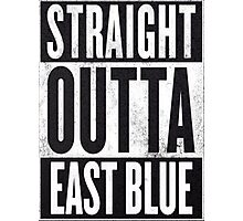 Straight outta east blue Photographic Print