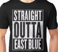 Straight outta east blue Unisex T-Shirt
