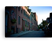 Backstreets Canvas Print