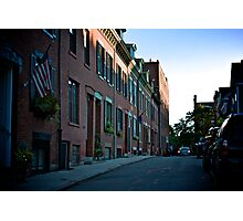 Backstreets Photographic Print