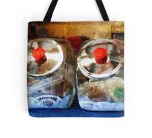 Two Glass Cookie Jars Tote Bag